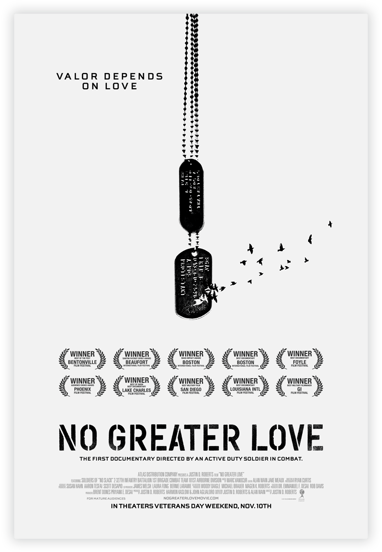 Official 'No Greater Love' Movie Poster